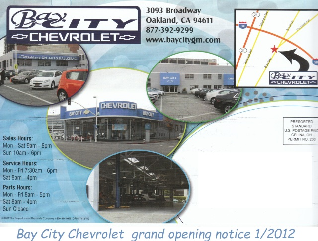Bay City Chevy 1-2012 post card w text 10-29-2017