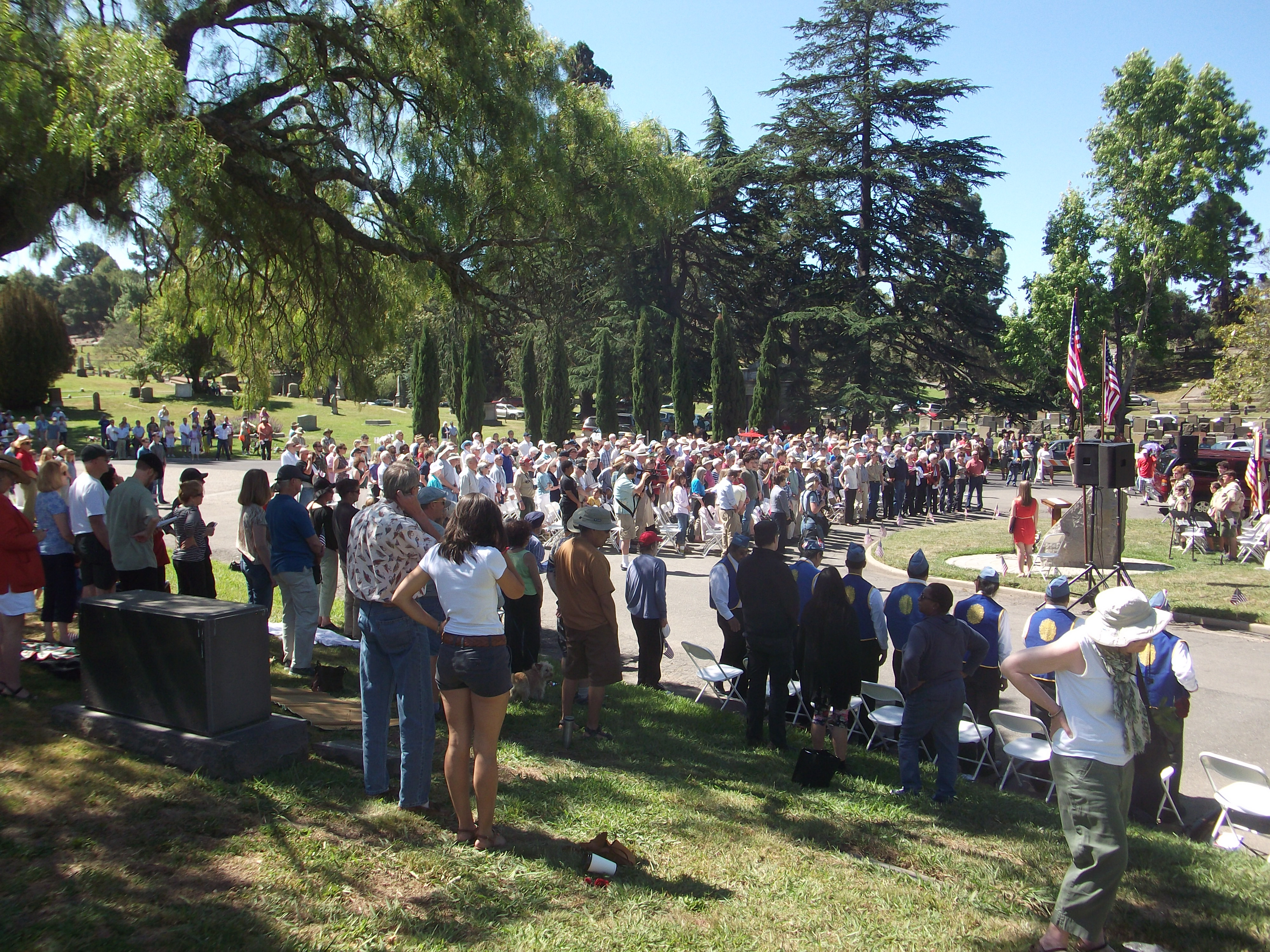 Mtn View Cemetery Memorial Day 2014 047