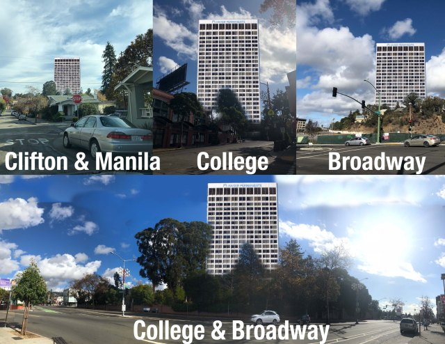 CCA Tower Apartments collage